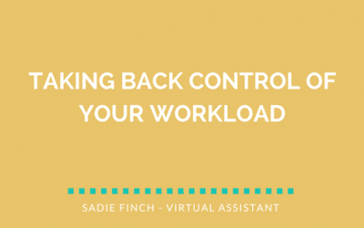 Taking Back Control of Your Workload